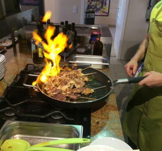 Feiern in der Küche